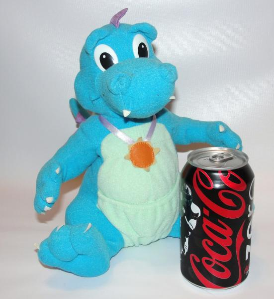 vintage 1999 dragontales ord dragon tales blue plush toy