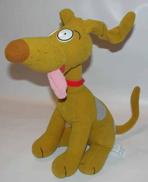 "12"" Plush SPIKE PICKLES Rugrats DOG Stuffed Animal Doll"
