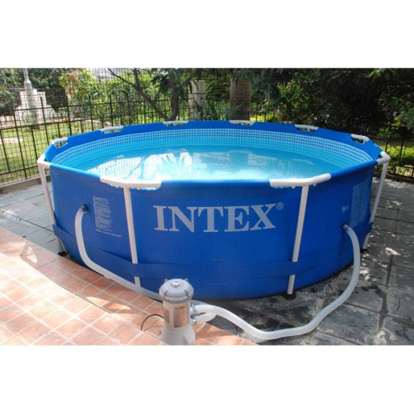 New Intex 56996 Family Size Swimming Cheap Metal Frame