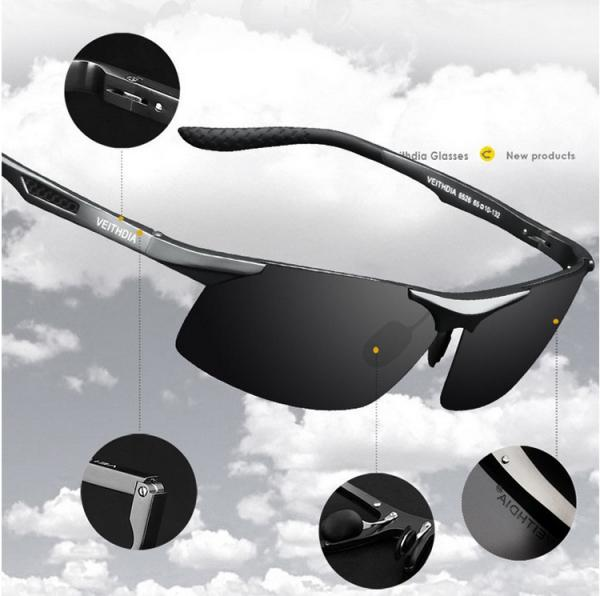 Details about HD Polarized Mens Sunglasses Outdoor Sports Pilot Eyewear  Driving Sun Glasses bad498bc9ce