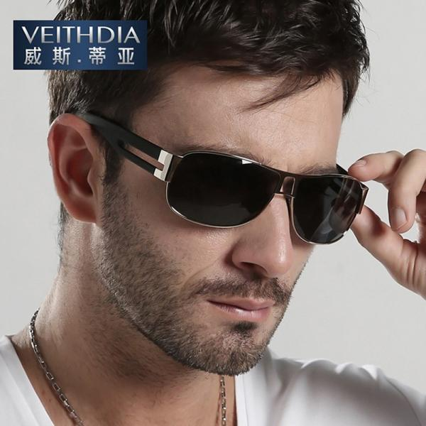 7dcd08bbbc3 HD-Polarized-Mens-Sunglasses-Outdoor-Sports-Pilot-Eyewear-Driving-Glasses -New