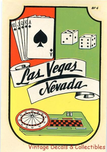 Vintage las vegas nevada casino gambling lindgren turner for Ebay motors las vegas