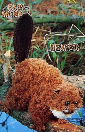 2000 Free Amigurumi Patterns: Beaver