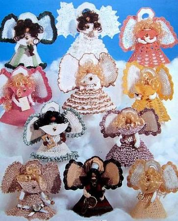CROCHET CLOTHESPIN ANGELS PATTERNS FREE CROCHET PATTERNS