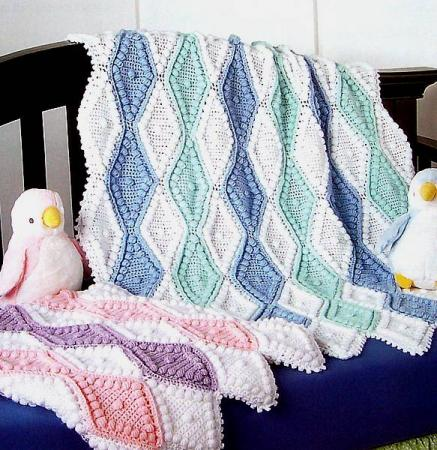 AFGHAN BABY CROCHET PATTERN ROUND « FREE Knitting PATTERNS