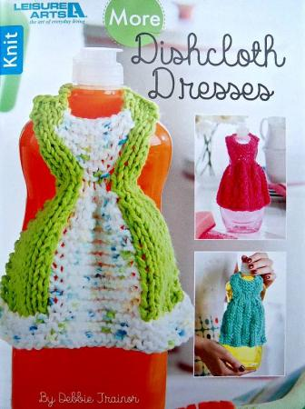 Knit More Dishcloth Dresses Leisure Arts 28906756159 Ebay