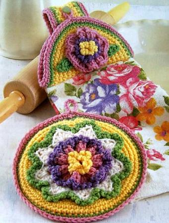 Free Crochet Towel Topper Pattern at Free, Online Crochet