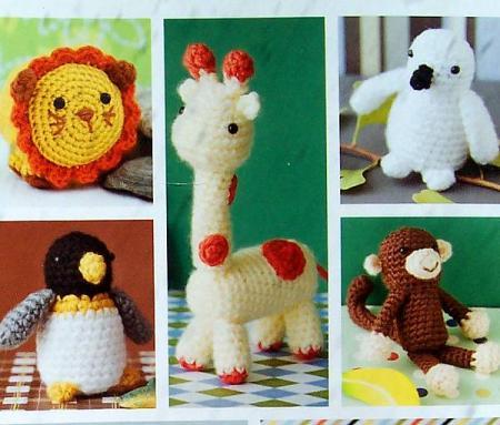 Enlarging Amigurumi Patterns : Easy Crochet Critters Vannas Choice 10 Amigurumi Designs ...