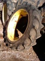 13 6 38 Firestone 6 Ply A or B John Deere Tractor Tires w Rim