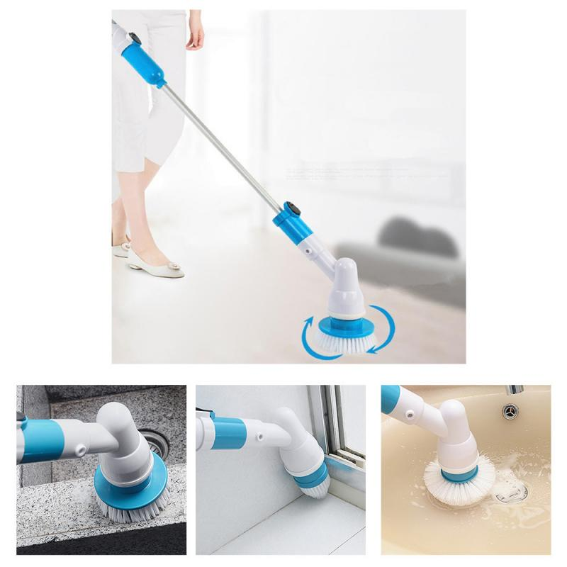 Rechargeable Fast Spin Scrubber Home Power House Handheld