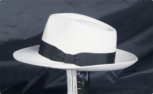 Michael Jackson Smooth Criminal Wool hat MJ black or white 100% wool