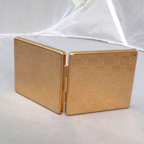 gucci premiere gold compact perfume make up pocket mirror. Black Bedroom Furniture Sets. Home Design Ideas