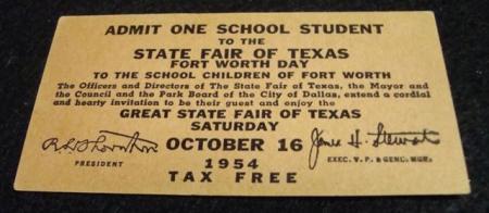 texas state fair dallas texas 1954 charles phoenix