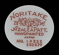 Azalea by Noritake china - RM Sterling