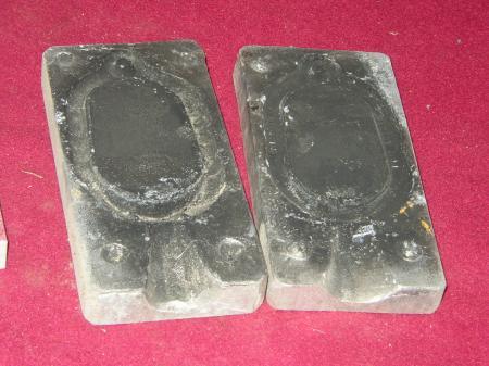 3 aluminum fishing weight sinker molds for Aluminum molds for fishing