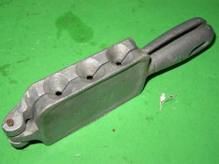 C palmer sinker mold 301 fishing weights 6a ebay for Fishing sinker molds