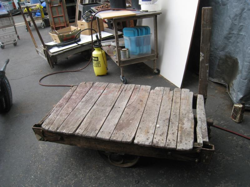 Antique Thomas Wood Furniture Cart Coffee Table Stand Heavy Duty Pu On Popscreen