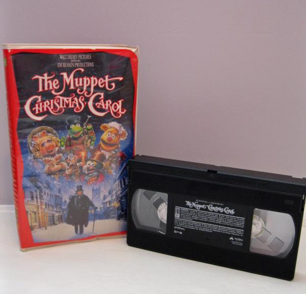 The Muppet Christmas Carol: The Muppet Christmas Carol (VHS, 1993) Muppets Video Tape