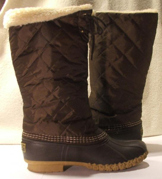 Brilliant Women39s Bean Boots By LLBean 10quot Bison From LLBean Inc