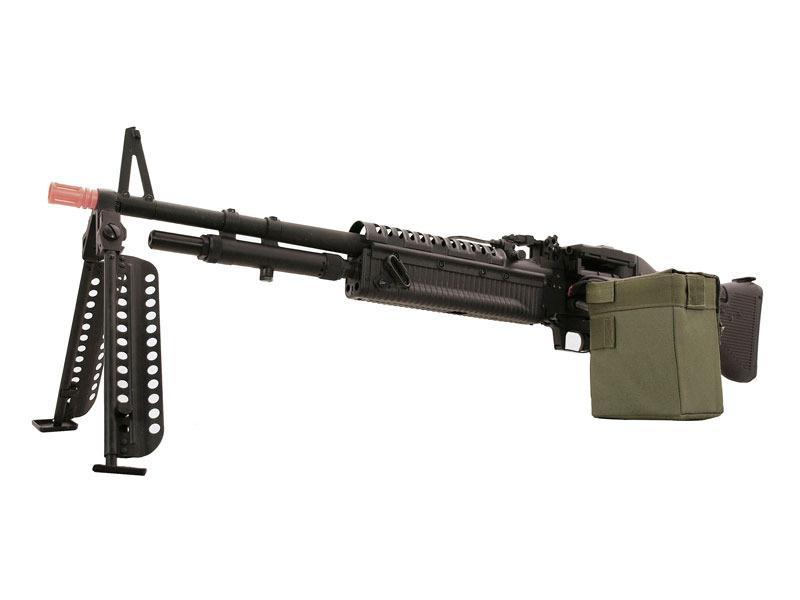 M60 Airsoft Machine Gun Rifle Full Auto Electric 380 FPS VN LMG AEG Metal M60e4   eBay