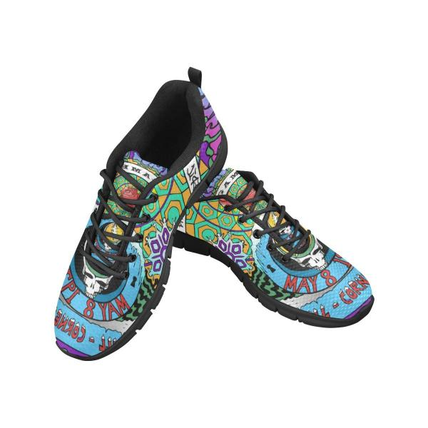 b0bec0992e4e NEW Mens Grateful Dead Running Tennis Shoes Size 9.5 - 10 Breathable  Colorful