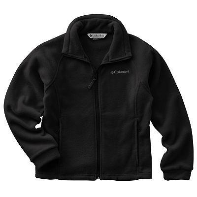 Columbia Womens June Lake Fleece Jacket Black, Size Large New with