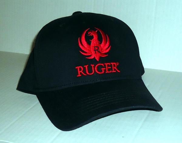 21b4c750aa71c Ruger 3D Logo Cap Hat Embroidered Stretch Fit