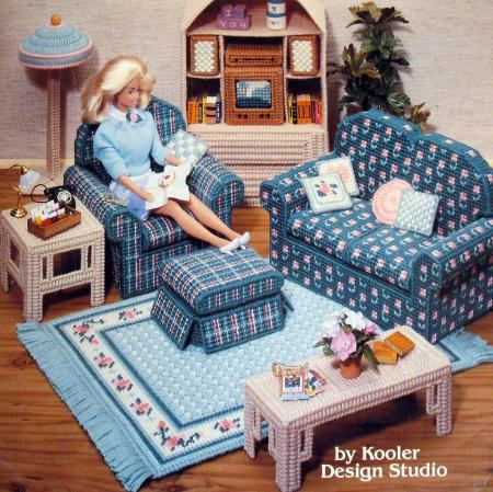 Plastic Canvas Doll Furniture | eBay - Electronics, Cars, Fashion