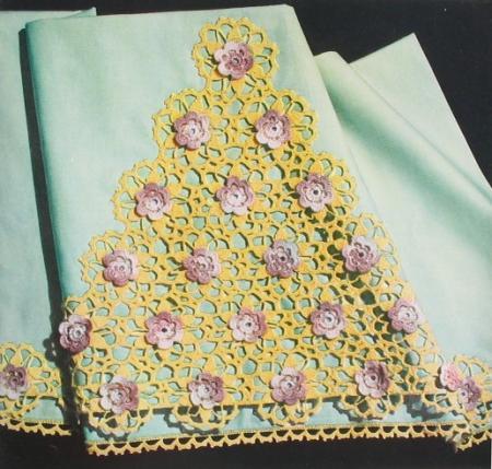 Ravelry: Rambling Rose Crocheted Collar/Neck Warmer/Scarf