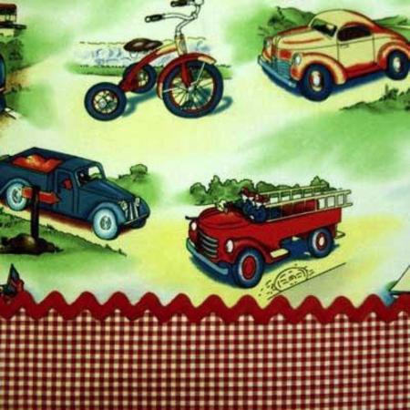 Michael Miller TRANSIT Cars Transportation Retro Fabric by