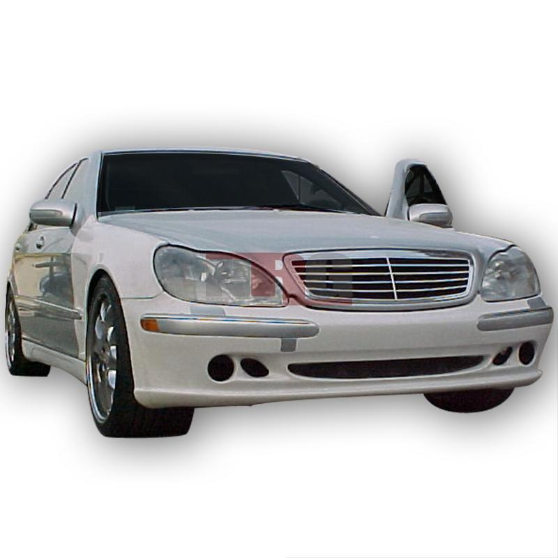 S class 00 02 mercedes benz w220 l style poly fiber front for Mercedes benz body styles