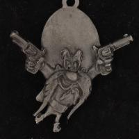 CHARM Yosemite Sam WARNER BROS LOONEY TUNES WB STORE Pewter GUN BLAZING 4254