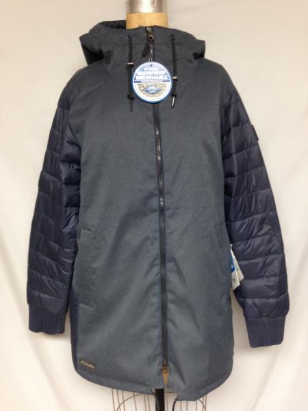 Details about Columbia Women's Boundary Bay™ Hybrid Jacket WL0900 Blue XL NWT $150