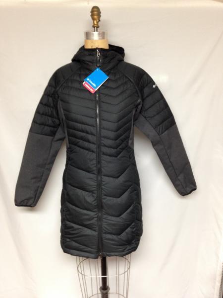 Columbia Oyanta Trail™ Long Hybrid Jacket WL0872-010 Black ...
