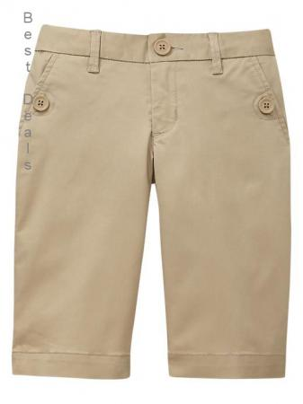 This Girl's School Uniform Bermuda Short is an awesome bargain when you compare it to the large department stores where they are also sold. The other stores pricing is approximately double, or even more, what the WalMart price is, especially when the quality is comparable/5(6).