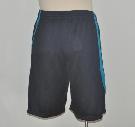 Awesome Womens Nike Fit Dry Capri Pants Black W Blue Accent Pockets S  EBay