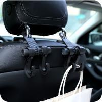 Stainless Steel Car Truck Suv Seat Back Hanger Organizer Hook Headrest Holder