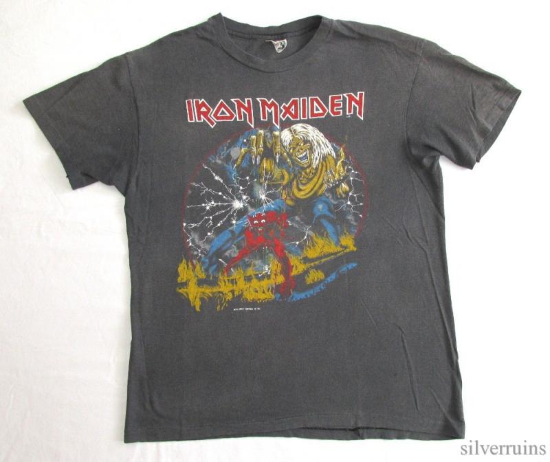 Vintage Iron Maiden Shirts 23