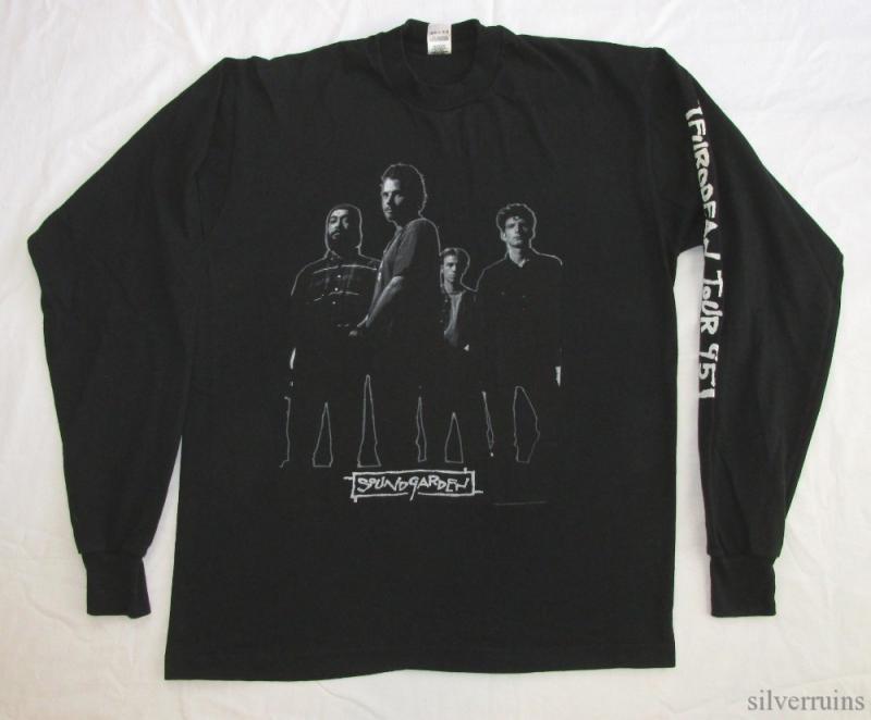 Soundgarden  S Superunknown Tour Vintage T Shirt