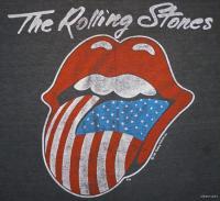 ROLLING STONES Vintage Concert SHIRT 80s TOUR T RARE ORIGINAL 1981