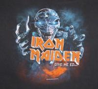 IRON MAIDEN CONCERT SHIRT 3XL Tour T EDDIE Give Em Ed