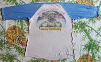 IRON MAIDEN Vintage Concert SHIRT 80s TOUR T RARE ORIGINAL Powerslave