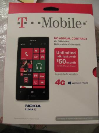 T Mobile Prepaid Nokia Lumia 521 4g Smartphone Reviews