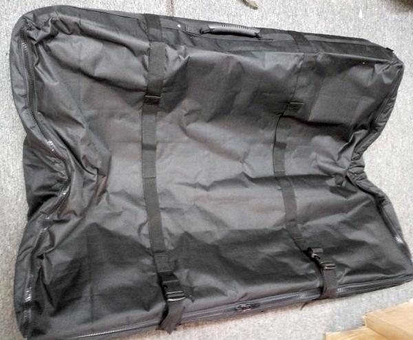 Rampage 595001 Freedom Top Panel Storage Bag Black 2007