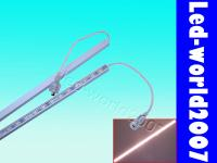 2pcs 50cm Warm White 5050 SMD 30 Led Light Aluminium Strip Waterproof