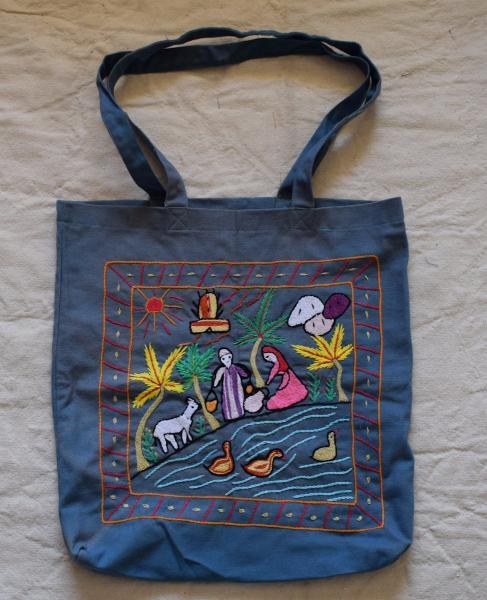 Hand Embroidered Egyptian Shoulder Bag Farmer Traditional Scenes Ebay