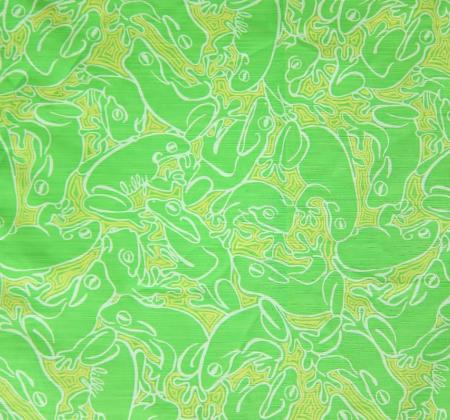 Lilly Pulitzer Fabric Limeade Lillys Pad 1 Yard