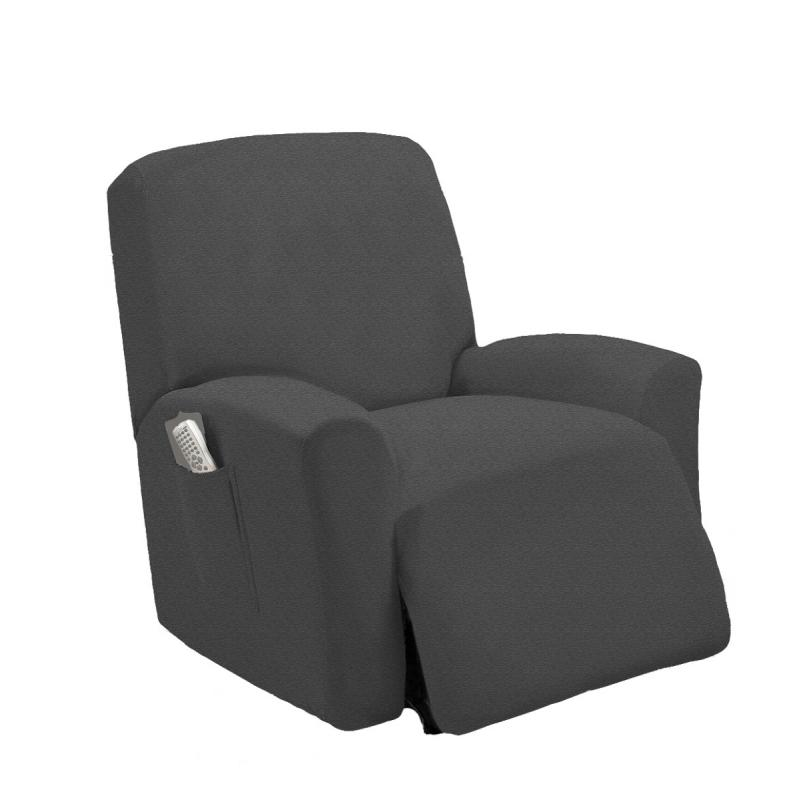 stretch furniture slipcover recliner cover lazy boy many colors to choose from ebay. Black Bedroom Furniture Sets. Home Design Ideas