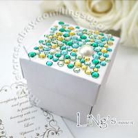 200 pieces 2x2x2 2 pcs Favor Gift Candy Box Wedding Baby Shower