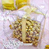 100 pieces 2x2x2 Clear Favor Gift Candy Boxes Wedding Party Baby